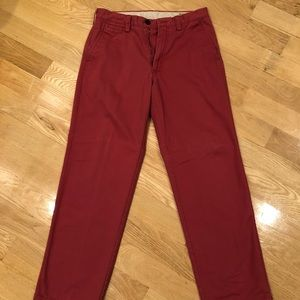 Other - *LIKE NEW* Men's Red Khaki Pants